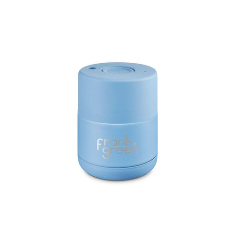 FRANK GREEN Stainless Steel Reusable Coffee Cup 6oz / 175ml - Little Boy Blue