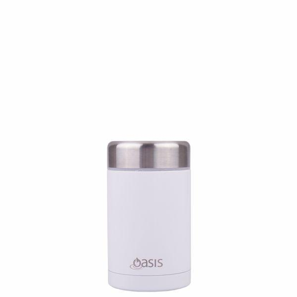 Oasis | Stainless Insulated Food Flask 450ml - White