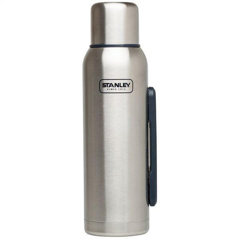 STANLEY | ADVENTURE 1.3L Insulated Vacuum Bottle - Brushed Stainless Steel
