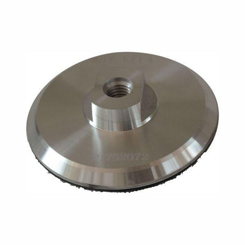 Stonex Backing Pad - Aluminium - Rigid - 100mm Diameter - M14 Fitting