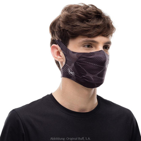 BUFF Filter Face Mask Adult - Ape-X Black
