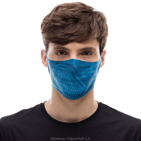 BUFF Filter Face Mask Adult - Keren Blue