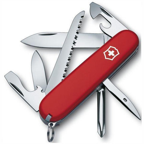 VICTORINOX  |  Hiker Swiss Army Knife (35695) - 1.4613