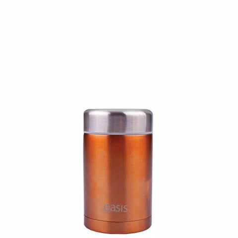 Oasis | Stainless Insulated Food Flask 450ml - Copper