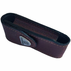Side View of VICTORINOX Brown Leather Belt Pouch - Large (05691)