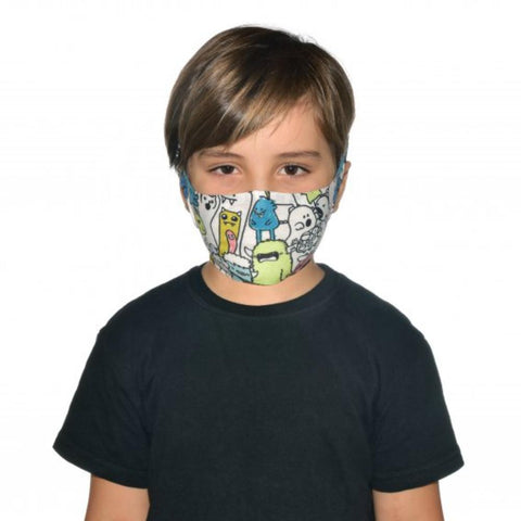 BUFF Filter Face Mask Junior / Child - Boo Multi Kids