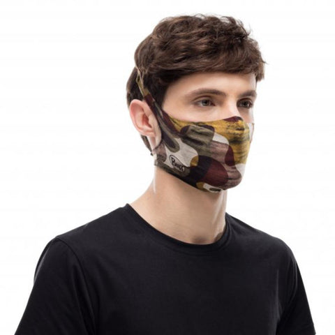 BUFF Filter Face Mask Adult - Burj Multi