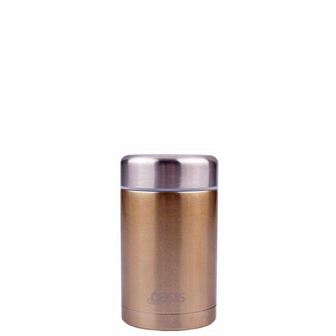 Oasis | Stainless Insulated Food Flask 450ml - Champagne
