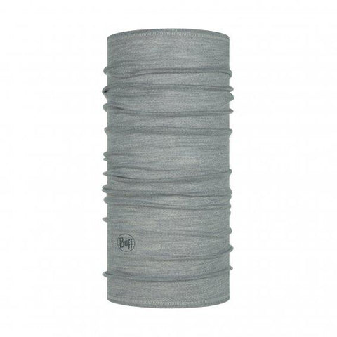 BUFF® | LW Merino Wool Multifunction Tubular Neckwear - Solid Light Grey