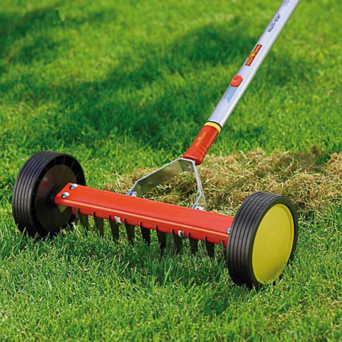 WOLF GARTEN | Multi-Change Scarifying Roller Rake - Head Only