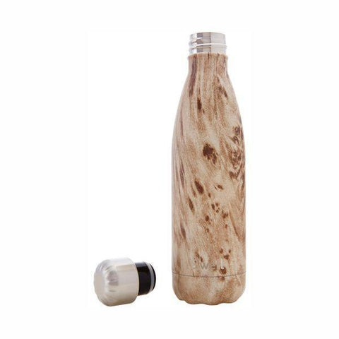 S'Well | Insulated Stainless Steel Bottle WOOD Collection 500ml - Blondwood
