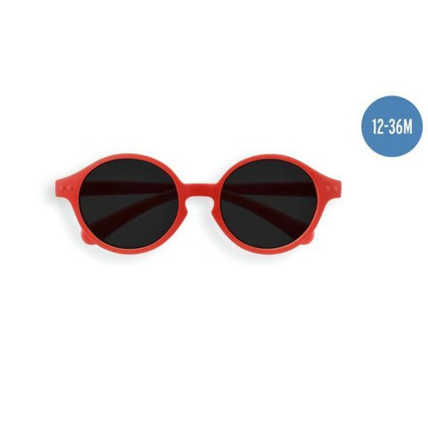 IZIPIZI PARIS | Sun Kids Sunglasses - Red (1-3 YEARS)
