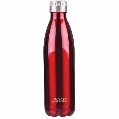 Oasis  |  Stainless Insulated Water Bottle 750ml - Red