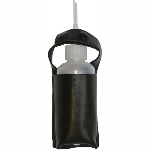 BOTANEX | Snuffer Sniffer Gold Prospecting  Guzzler Bottle Holster - Leather