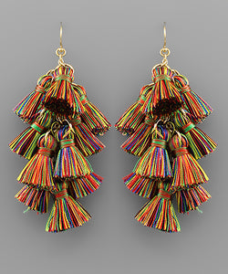 Multi Tassel Chandelier
