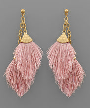 Load image into Gallery viewer, Double Tassel Earring