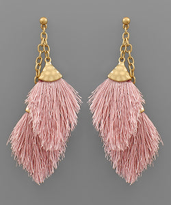 Double Tassel Earring