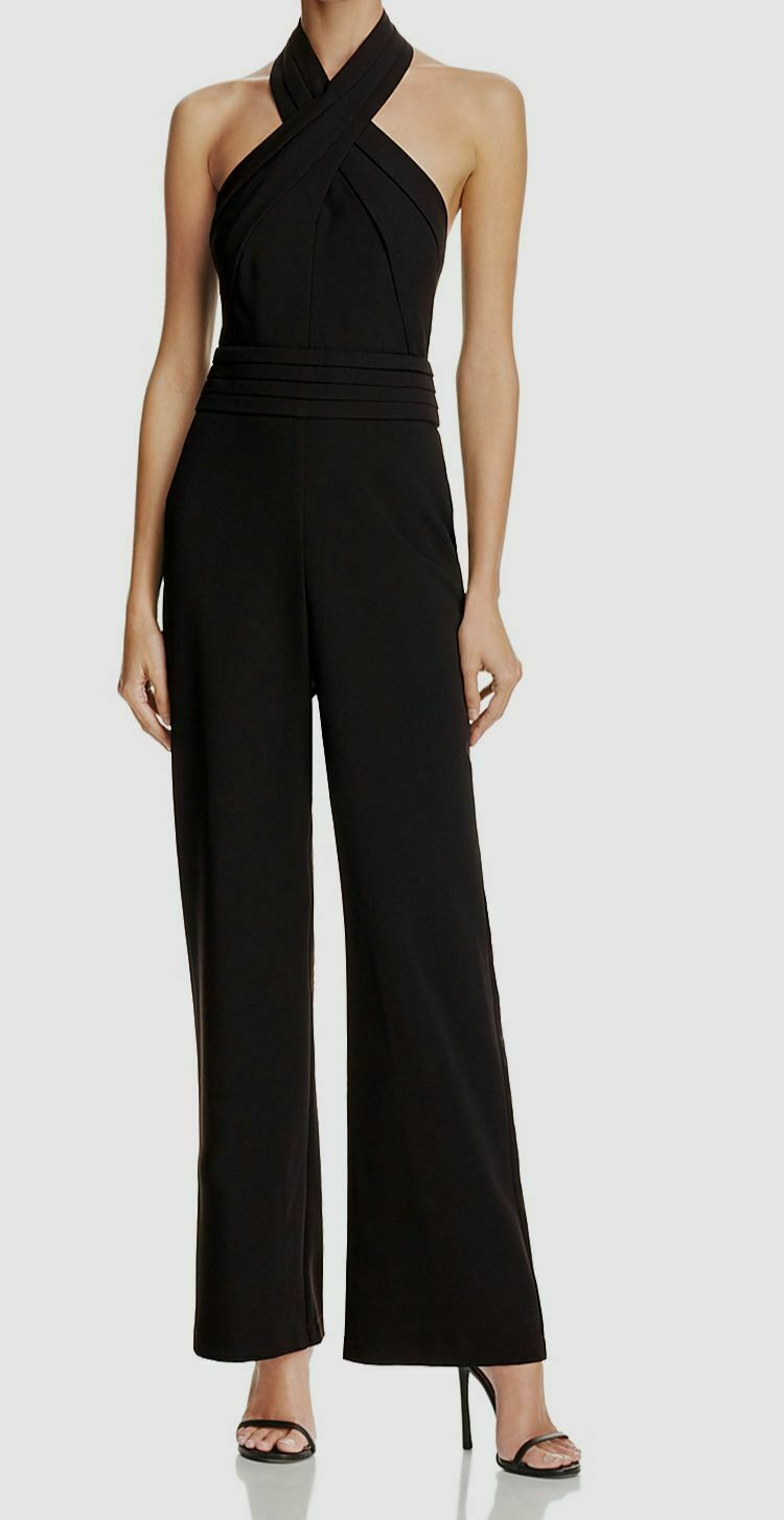 Cindy Halter Sleeveless Jumpsuit