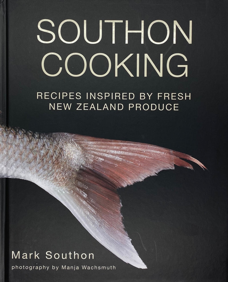 Signed cookbook by Mark Southon