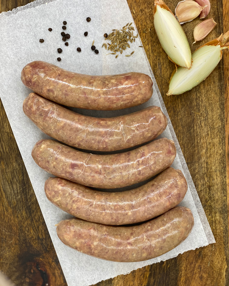 All Natural Lamb Sausages