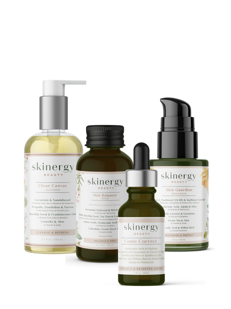 The Re-energizing Four Step Skincare Kit