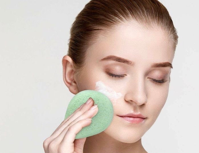 Green Tea Konjac Exfoliating Sponge