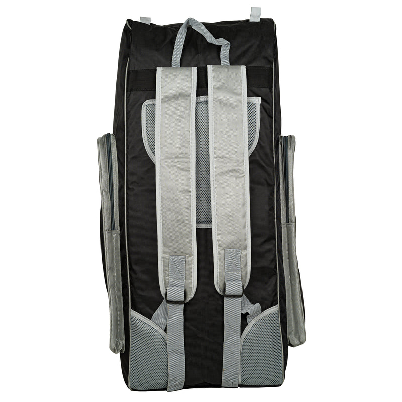 N-Series Big Duffle Bag // Black/Silver