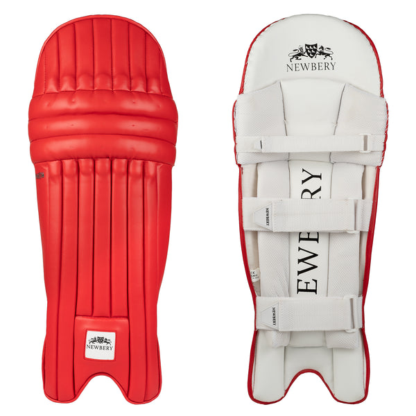 Red Batting Pads (Ambidextrous)