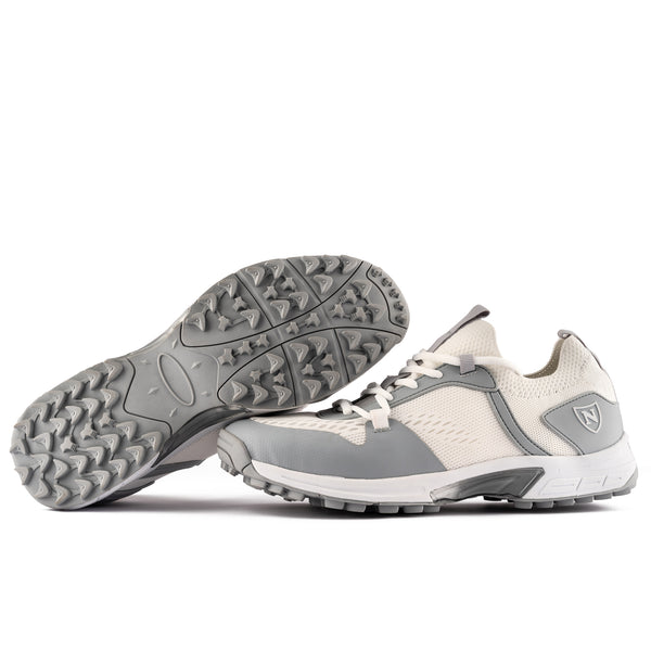 2021 Shoe Pimples // White and Silver (Junior)