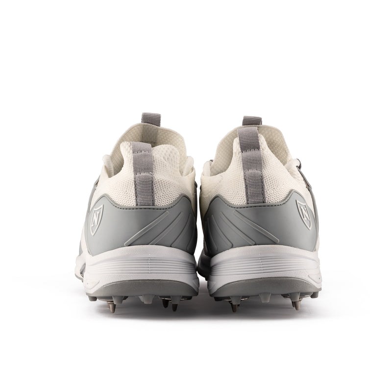 2021 Shoe Spikes // White and Silver