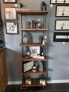 Large Pipe Wall Shelves