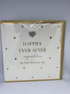 Happily Ever After Congratulations On Your Wedding Day