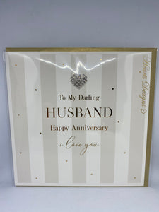 To My Darling Husband Happy Anniversary