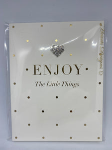 A6 Notebook - Enjoy The Little Things