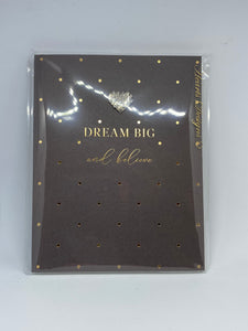 A6 Notebook - Dream Big