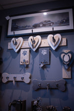 Load image into Gallery viewer, Heart Double  Coat Hook