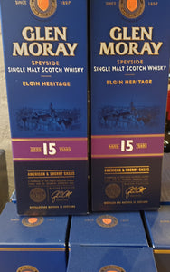 Vinoble: Whisky Glen Moray 15 års