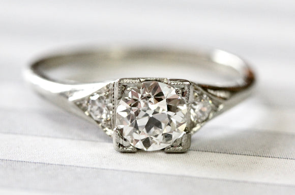 Elegant ~ Diamond Engagement Ring