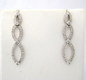 Entwined Diamond Earrings