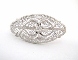Vintage Filigree Pin