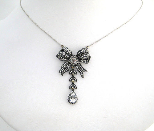 Victorian Reproduction Bow Neckpiece