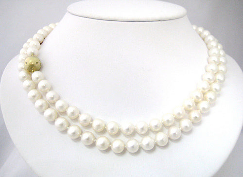 Pearl Necklace, 36-inches, 8.5-9mm