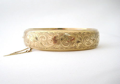 Antique Yellow Gold Bangle