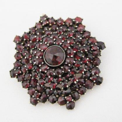 Antique Garnet Pendant