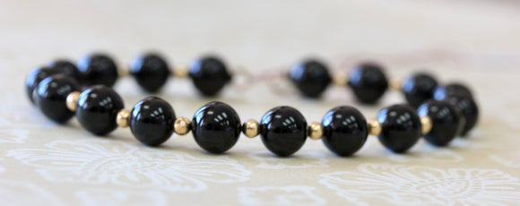 Stylish ~ Black Onyx Bracelet