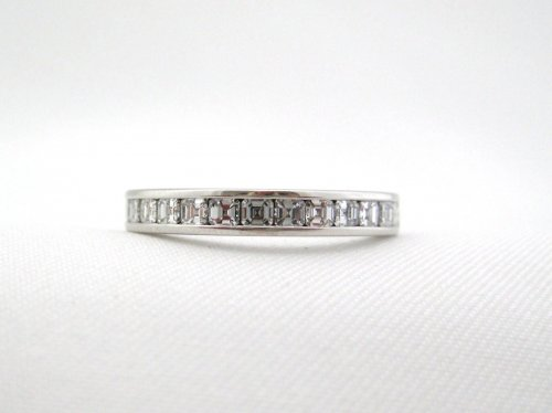 Asher (30) Cut Diamond Eternity Band