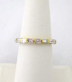 Straight Baguette Diamond Eternity Band