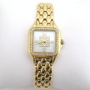 Gold Concord Ladies Watch