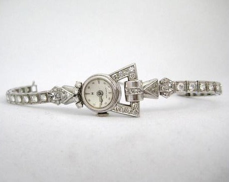 Art Deco Hamilton Diamond Watch