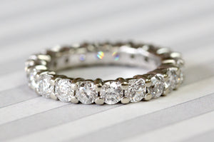 2.5 Carat Diamond Eternity Band